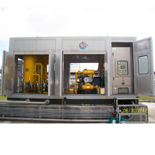 Vent Gas Recovery Unit